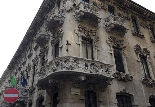 Prächtiges Gebäude