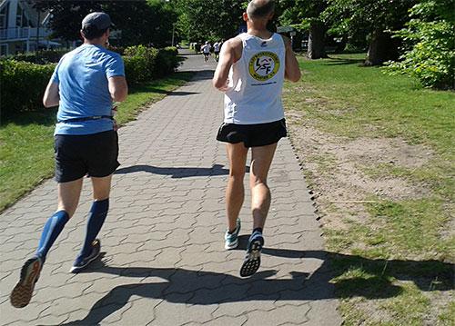 Läufer beim Scharmützelseelauf 2019