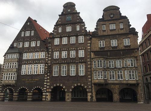 Historische Häuser am Marktplatz