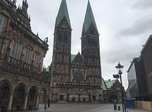 Rathaus und Bremer Dom