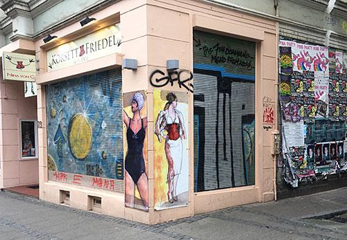 Geschäft im Viertel
