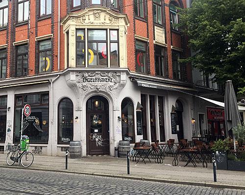 Café Engel in der ehemaligen Engel-Apotheke