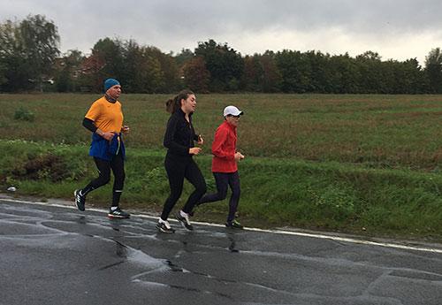 Läuferinnen und Läufer in Lichtenrade