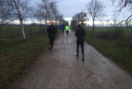 Läufer im Süden Berlins