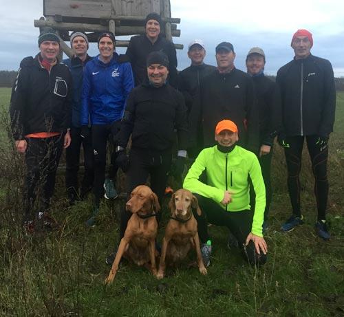 Läufer-Gruppenfoto Jahresendlauf 2019 von startblog-f
