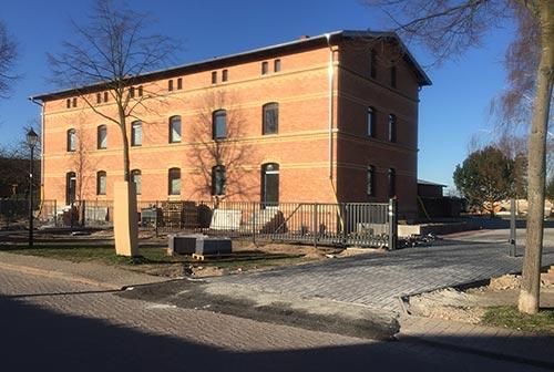 Frisch saniertes Backstein-Gebäude in Diedersdorf