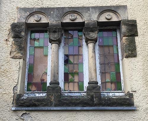 Fenster an der Hakeburg