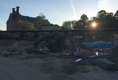 Baugelände am S-Bahnhof Lichtenrade