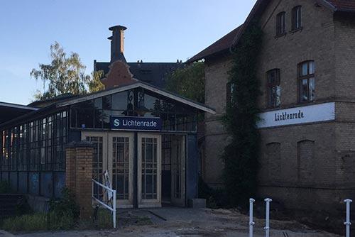 Alte Gebäude S-Bahnhof Lichtenrade