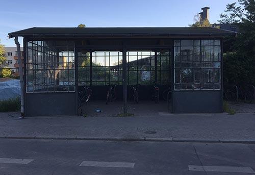 Fahrrad-Häuschen am S-Bahnhof Lichtenrade