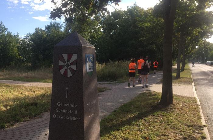 Ortsmarkierung Gemeinde Schönefeld
