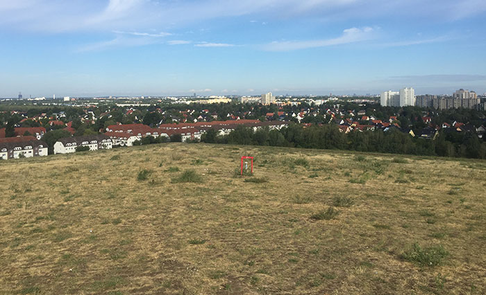 Blick vom Sky point auf Berlin