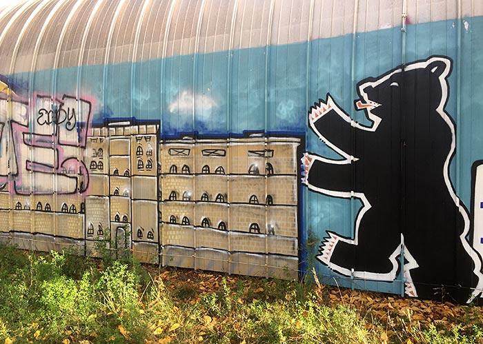 Berliner-Bär-Graffiti