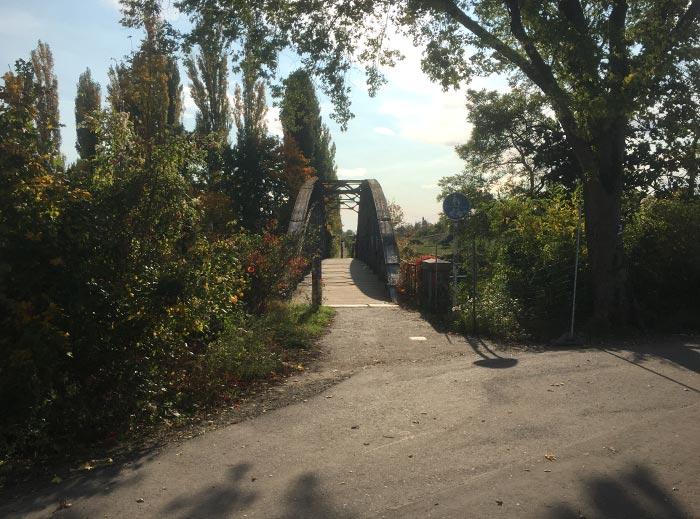 Fußgängerbrücke über den Teltowkanal