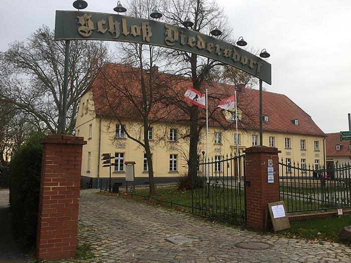 Toreingang Schloss Diedersdorf