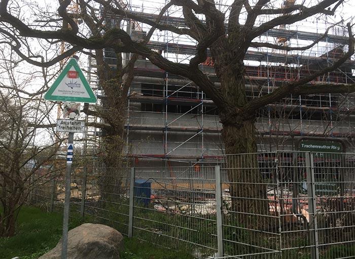 Baustelle Gustav-Heinemann-Oberschule