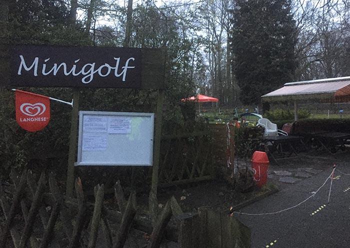 Minigolf-Anlage