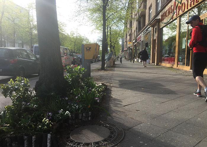 Läufer auf der Reichsstraße
