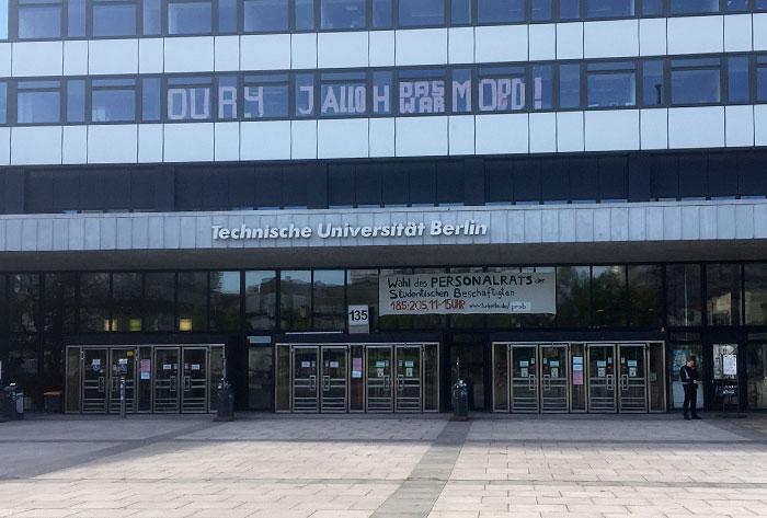 Haupteingang der Technischen Universität Berlin