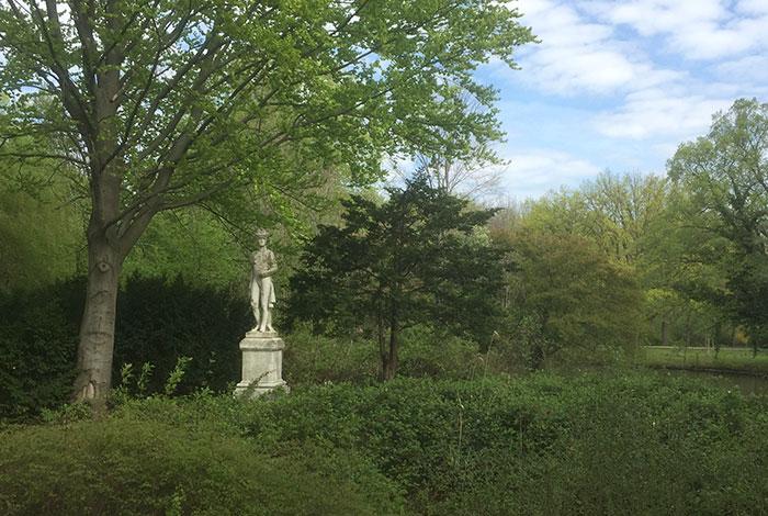 Statue Wilhelm von Preußen im Tiergarten