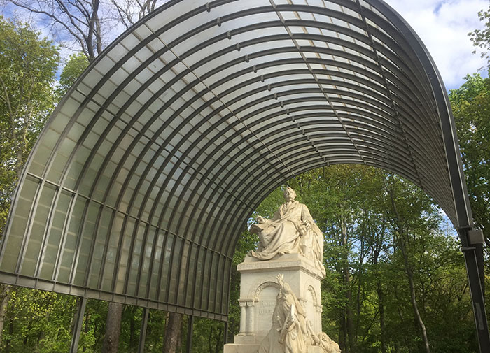 Statue Richard Wagner im Tiergarten